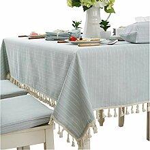 JH tablecloths Modern Einfach Baumwolle Tischdecke