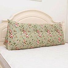 JHBJ Dreieck Kissen Verlassen auf dem Kissen Doppelbett Weiche Tasche Bett Kissen Bett zurück kann gewaschen und gewaschen werden Taillenkissen ( Farbe : B , größe : 100*20*50cm )