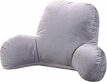 JHBJ Kissen Büro mit Taille Kissen Nachttisch Kissen Stuhl Lendenwirbel Rücken Kissen Nap Kissen Taillenkissen ( Farbe : C , größe : 65*40*26cm )