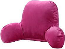 JHBJ Kissen Büro mit Taille Kissen Nachttisch Kissen Stuhl Lendenwirbel Rücken Kissen Nap Kissen Taillenkissen ( Farbe : G , größe : 50*30*20cm )