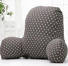 JHBJ Schützen Sie die Taille Große Lendenwirbelsitz Kissen Kissen Büro Taille Kissen Stuhl Rücken Auflage Schwangere Frauen Auto Kissen Taille Pad 55 * 38 * 20cm Taillenkissen ( Farbe : C )