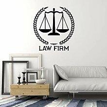 JHGJHGF Anwaltskanzlei Logo Wandtattoo