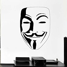 JHGJHGF Wandaufkleber Vendetta Wandbild Vinyl