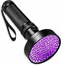 JHion UV-Taschenlampe Schwarz Licht, 395NM