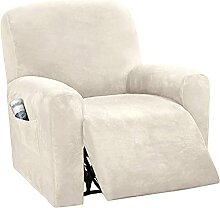 JHLD 6 Stück Stretch Sesselbezug Relaxsessel,