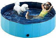 JHLD Schwimmbecken Für Hund, rutschfeste PVC