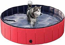 JHLD Schwimmbecken Für Hund, Tragbarer