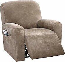 JHLD Stretch Sesselbezug Relaxsessel, 1Sitz 4