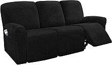 JHLD Stretch Sesselbezug relaxsessel, Samt 8