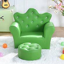 JHSF Kindersofa Freizeit Mini Sofa Schöne Sitzfläche Lazy Sofa Baby Sofa Stuhl (Farbe : B)