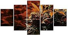 JHSM 5 Marihuana-Cannabis-Weed-Pflanze Moderne