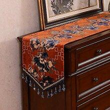 Jhtadva Chinesischer klassischer Luxus-Esstisch,