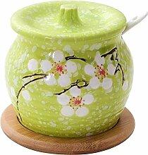 Jhtadva Home Küche kreative Keramiksalz, MSG,