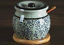 Jhtadva japanische Küche kreative Würze Keramik