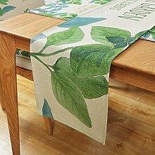 Jhtadva Pastoral frische grüne Blätter Design