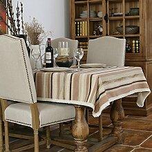 jhxena American Style Tischdecke Ländlichen Retro
