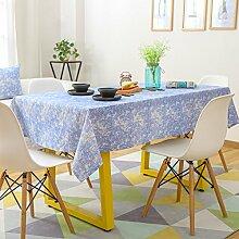jhxena Baumwolle Und Leinen Tischdecken Farbe