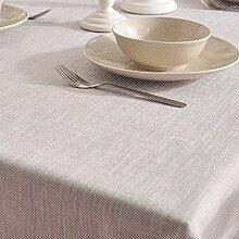 Jhxena Einfachen Stil Tischdecken Farbe Verdicken