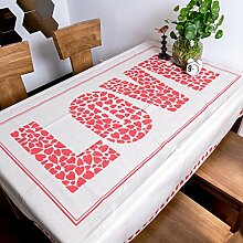 jhxena Europäischen Stil Rechteckige Tischdecke