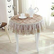 jhxena Im Europäischen Stil, Runde Tischdecke