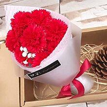 jhxena Künstliche Blume Nelkenseife Flower