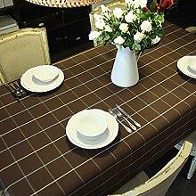 jhxena Moderne Raster Form Tischdecken Art Hotel