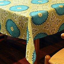 jhxena Moderne Tischdecke Wasserdicht Und Öldicht