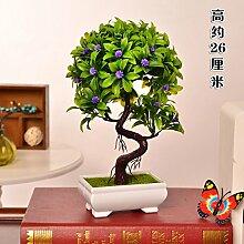 Jhyflower Kunststoff Blume Tisch gefälschte Blume
