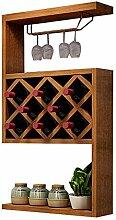 JI Bin Shop® Weinschrank Modern Simple Wandbehang
