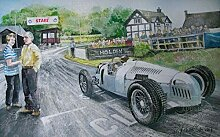 Ji5487oel 1936 Auto Union Shelsley Walsh