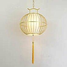 JIA HONG Birdcage Restaurant Restaurant Startseite Balkon Lampe,Gold-300*300