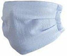 JIA HONG Einfache Mode-Baumwoll-Dünnschnitt-Masken,Blue1