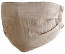 JIA HONG Einfache Mode-Baumwoll-Dünnschnitt-Masken,Brown