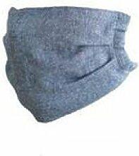 JIA HONG Einfache Mode-Baumwoll-Dünnschnitt-Masken,Grey