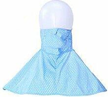 JIA HONG Fashion Wind Sonnenschutz Schal Masken,Blue1