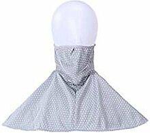 JIA HONG Fashion Wind Sonnenschutz Schal Masken,Grey1