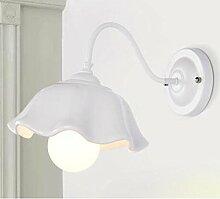 JIA HONG Schlafzimmer Bedside Wohnzimmer Gang Gang Korridor Lampe,White-B