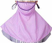 JIA HONG Sonnenschutz-Kopfbedeckung Reit-Anti-Ultraviolett-Nackenmasken,Purple1
