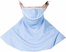JIA HONG Sonnenschutz-Kopfbedeckung Reit-Anti-Ultraviolett-Nackenmasken,Blue2