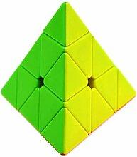 JIAAE Puzzle Zauberwürfel Non-Aufkleber Solid