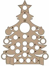 JIACUO Handgemachte Holz Weihnachten