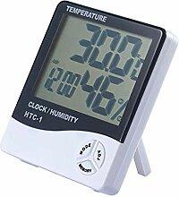 JIAHANLI Wecker scherzt Thermometer Wecker