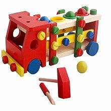 Jiahe Baby Holzspielzeug Werkzeuge Kinder Werkzeug