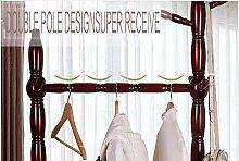 JIAJBG Haushalt Indoor Coat Lagerregal, hängende