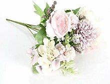 JIAJING Gefälschte Blume Seidenblumen 1 Stücke