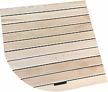 JIAJUAN Natürlich Holz Badematte Sektor Bad