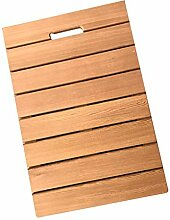 JIAJUAN Natürlich Holz Material Bad Badematte