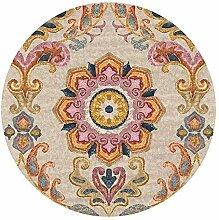 JIAJUAN Runder Teppich Für Wohnzimmer