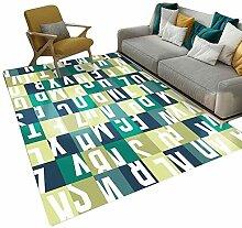 JIAJUAN Teppich Für Wohnzimmer Schlafzimmer Sofa