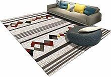JIAJUAN Teppich für Wohnzimmer Sofa Kaffeetisch